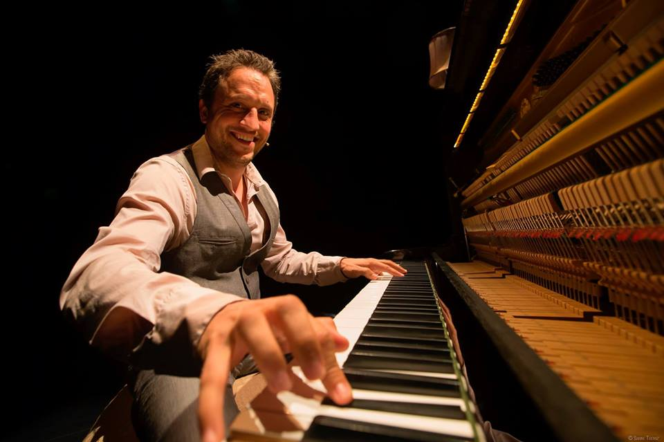 Sebastien Troendlé, le grand pianiste jazz.